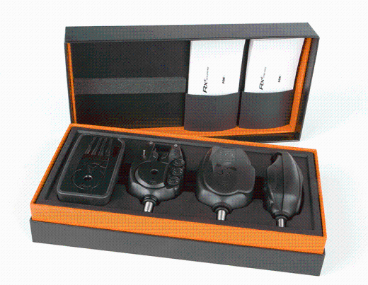 Fox Micron RX Plus 3 Rod Bite Alarm Set