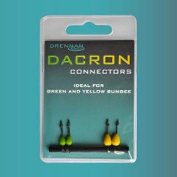 Drennan Dacron Connectors Green & Yellow