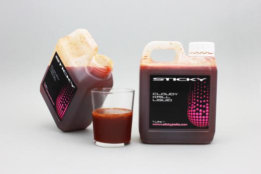 Sticky Baits Cloudy Krill Liquid 1000ml