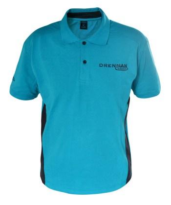Drennan Aqua Polo Shirt: Small