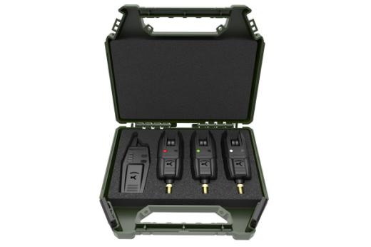 Korum KBI x3 Alarms & Receiver Set