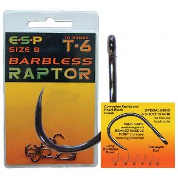 ESP Barbless Raptor T6